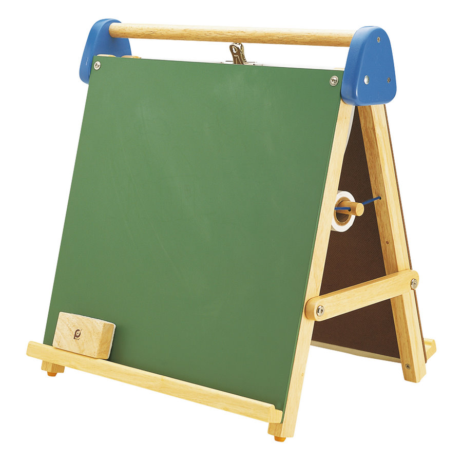 Tabletop Magnetic Easel And Chalkboard Pintoy